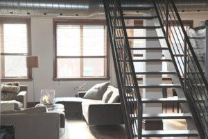 Interieur d'un habitat qui illustre un logement de fonction